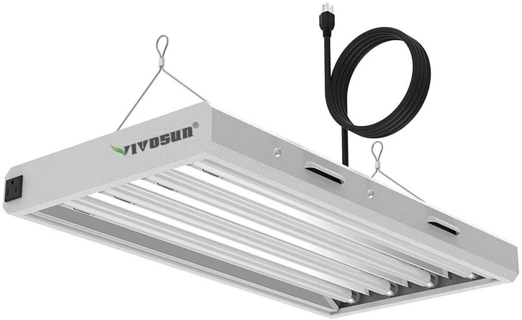 fluorescent grow lamps for microgreens